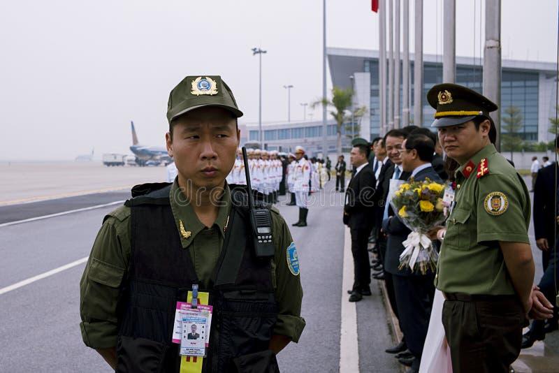 2017年越南亚太经合山顶 库存照片