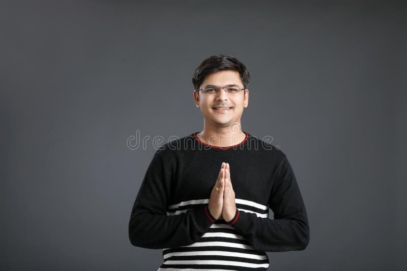 年轻印度人 免版税库存图片