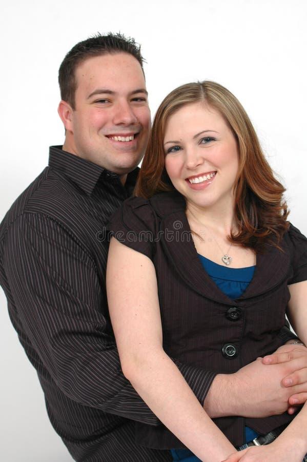 年轻的夫妇 库存照片