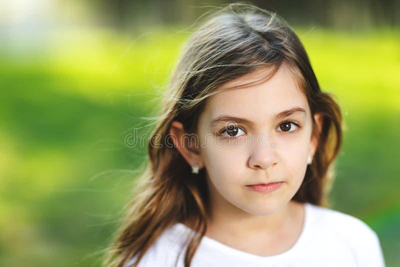 年轻美女画象  库存照片