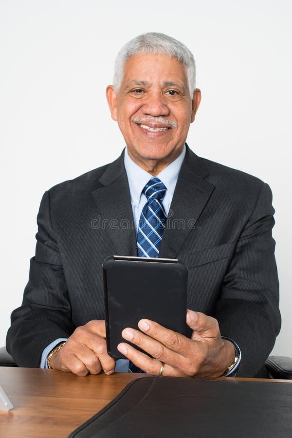 年长人前辈 免版税库存图片