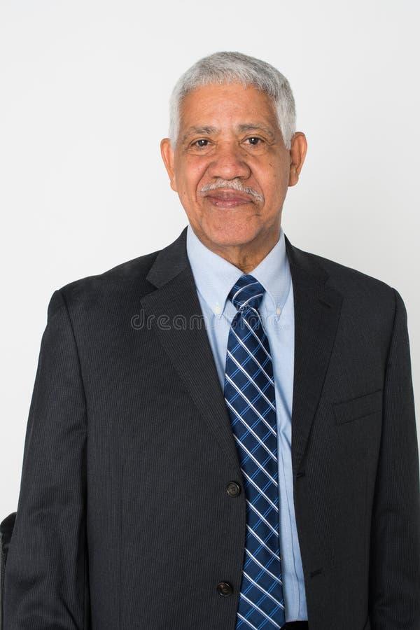 年长人前辈 免版税图库摄影