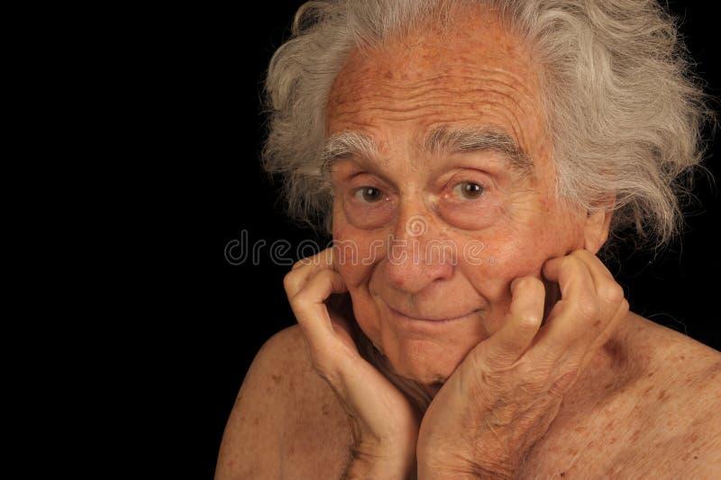 年长人 免版税图库摄影