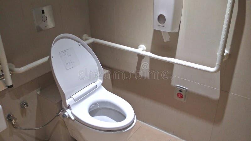 年长友好的洗手间 免版税库存图片