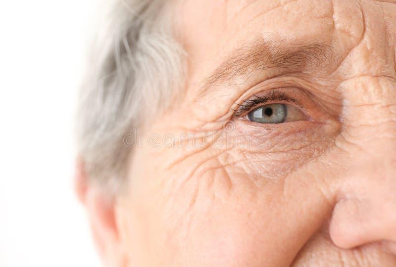 年长妇女画象, 库存照片