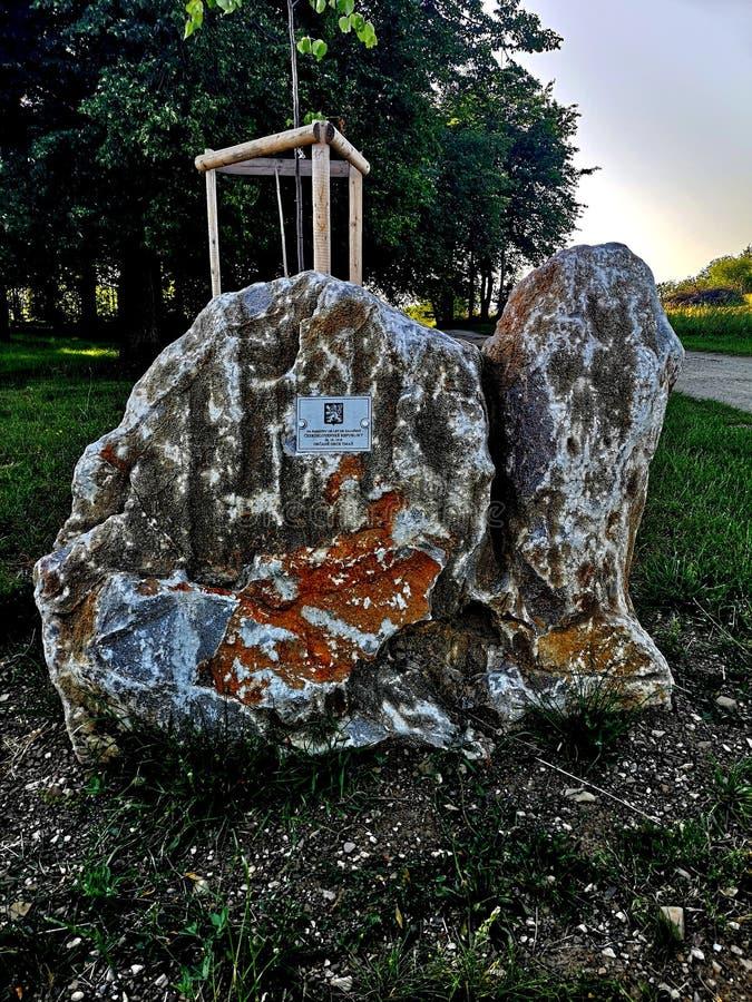 年龄岩石  免版税库存图片