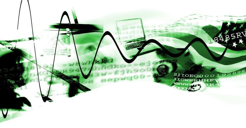Download 年龄拼贴画数字式现代 库存例证. 插画 包括有 标志, 绿色, 商业, 利润, 增长, 数字式, 附庸风雅, 万维网 - 404743