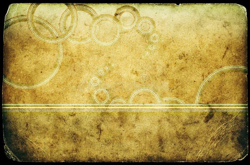 年龄grunge老纸纹理 皇族释放例证