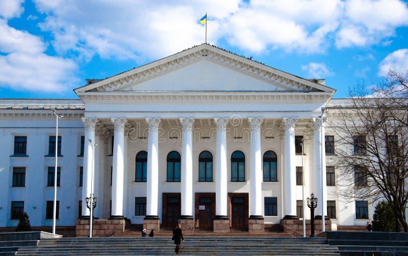 2019年4月 克拉马托尔斯克,乌克兰 免版税图库摄影