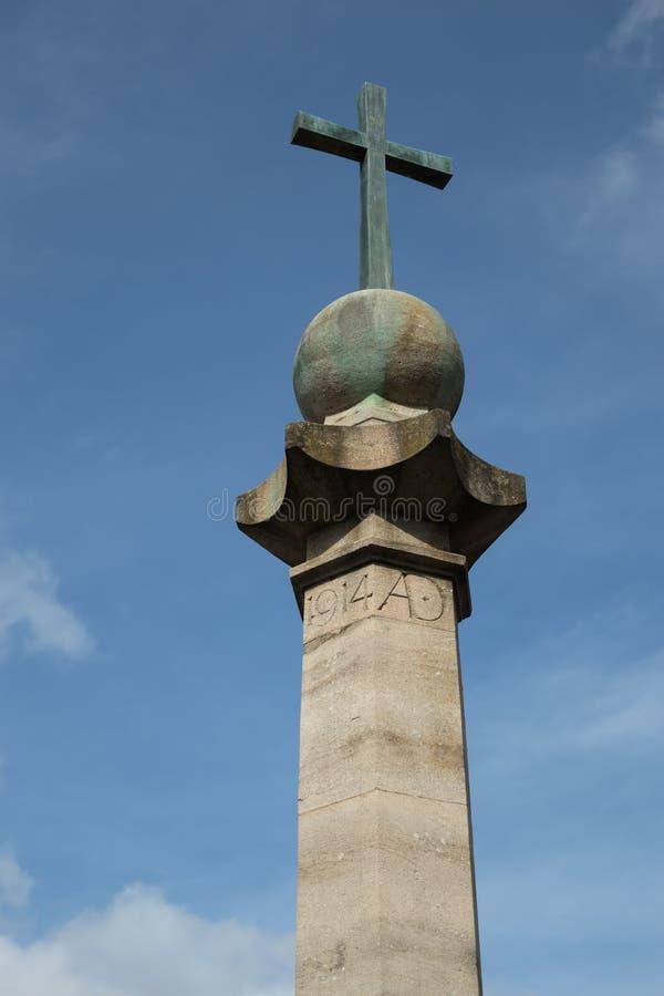 2019年8月30日东格里斯特西萨塞克斯战争纪念碑 库存照片