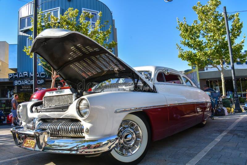 2018年6月8日兰卡斯特,加州 - 经典汽车巡航 免版税图库摄影