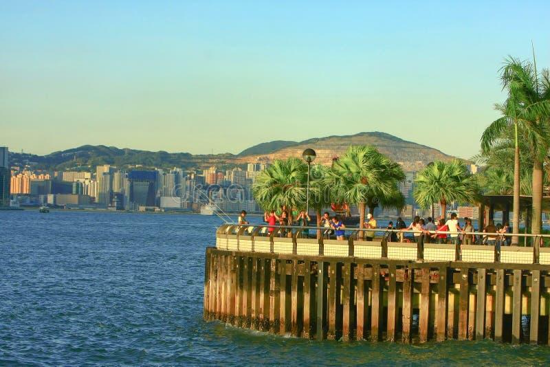 2008年8月23日香港会议展览中心长廊 免版税图库摄影