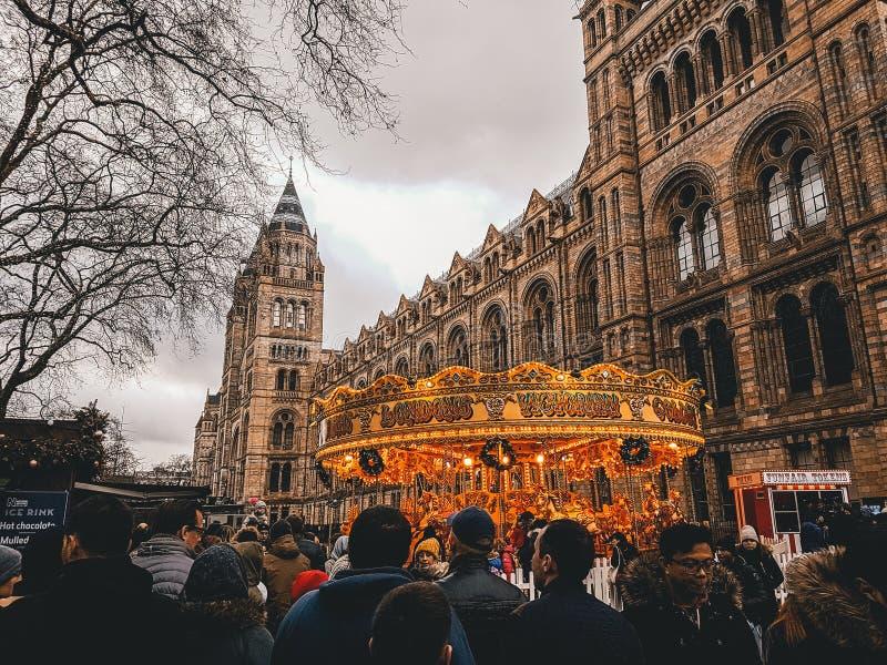2017年12月28日,伦敦,英国-自然历史博物馆 库存照片