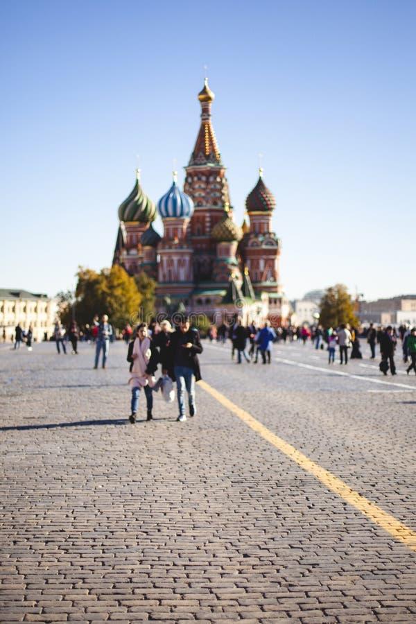2018年10月11日 莫斯科红场 库存图片
