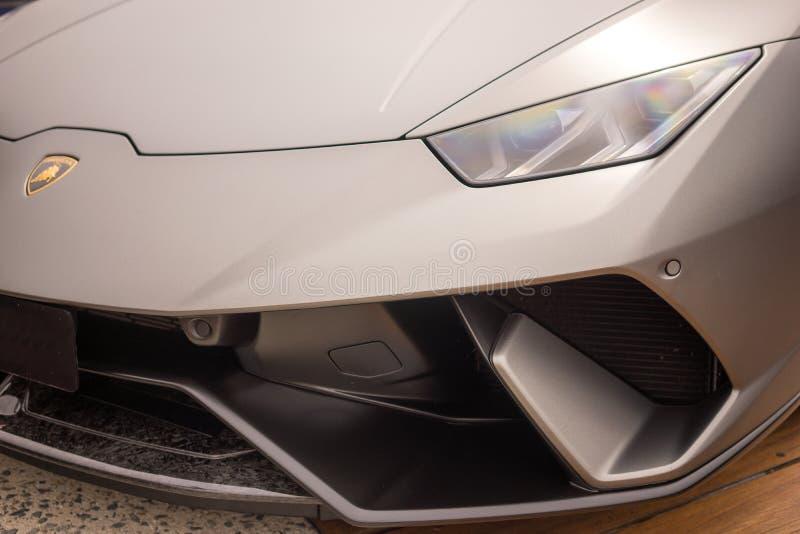 2017年Lamborghini Huracà ¡ n LP640-4 Performante 免版税库存图片