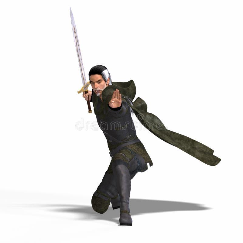幻想凶恶剑 皇族释放例证