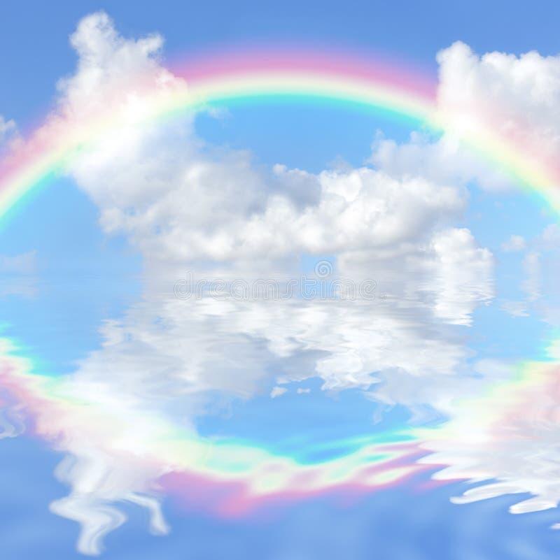 幻想彩虹 向量例证