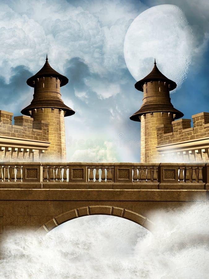 幻想王国 向量例证