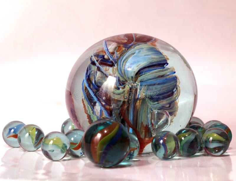 幻想玻璃 库存照片