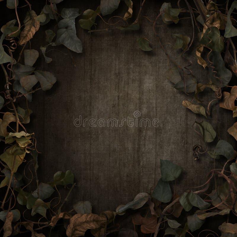 幻想童话藤边界黑暗 图库摄影