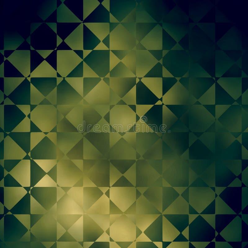 幻想背景纹理/几何设计 库存例证
