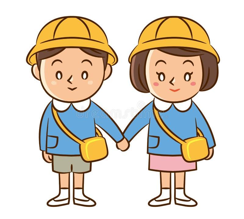 幼儿园孩子 免版税库存照片
