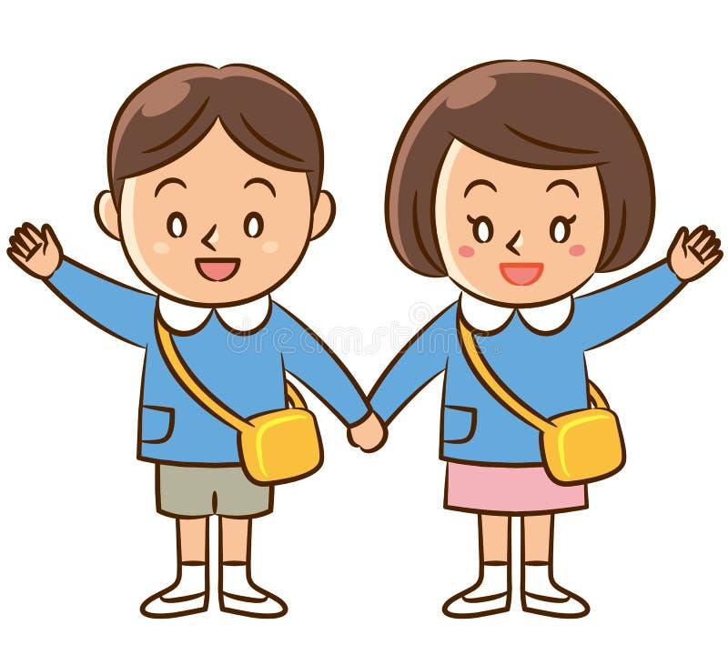 幼儿园孩子 图库摄影