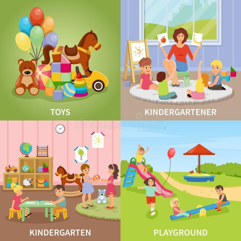 幼儿园平的设计观念图片