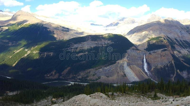 幽鹤国家公园在加拿大 免版税库存图片