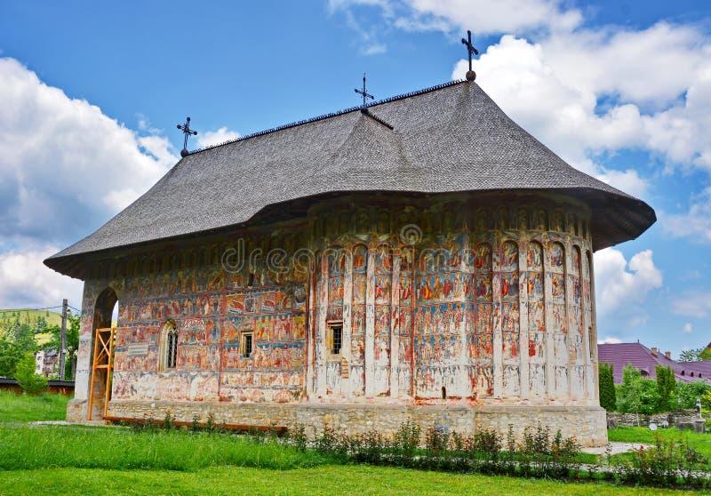 幽默修道院罗马尼亚 免版税库存照片