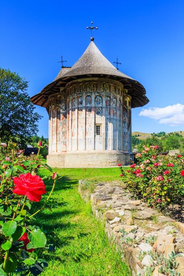 幽默修道院,罗马尼亚 库存照片