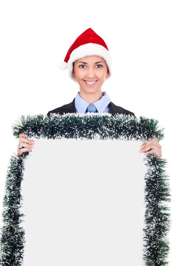 广告业圣诞节 库存图片