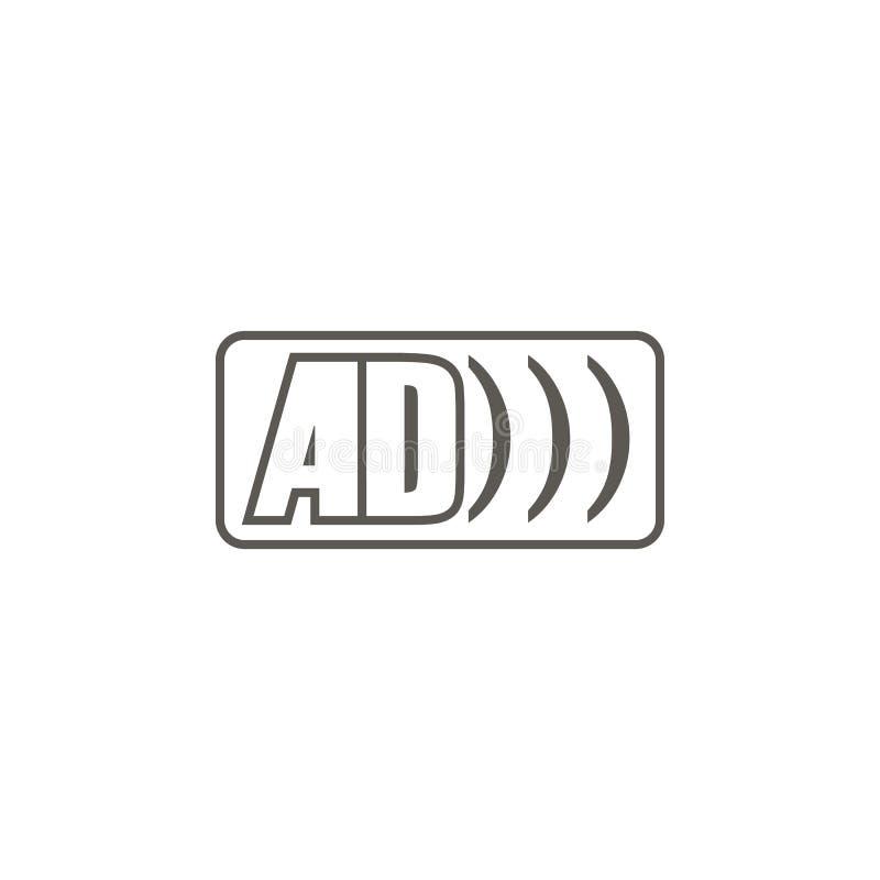 广告商标传染媒介象 r 广告商标传染媒介象 r 库存例证