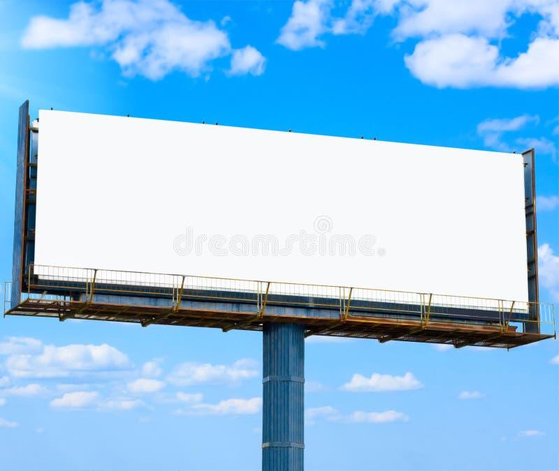 广告您横幅的空白 免版税库存照片