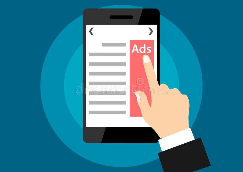 广告机动性 向量例证