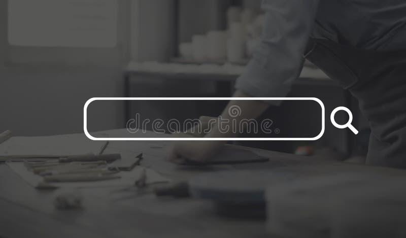 广告横幅空白标志营业通讯概念 库存图片
