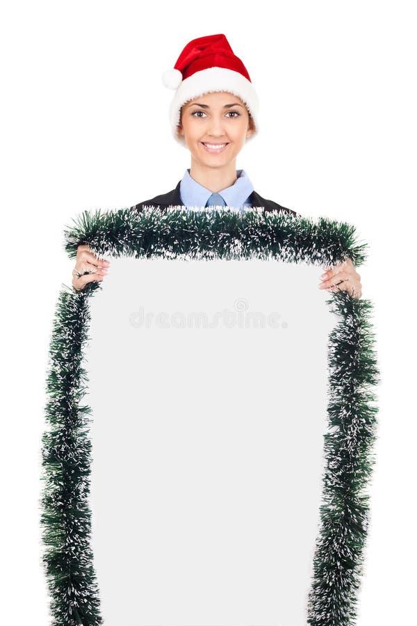 广告牌圣诞节 免版税库存图片