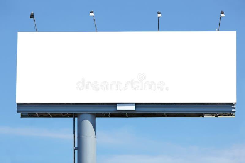 广告牌空白 库存照片
