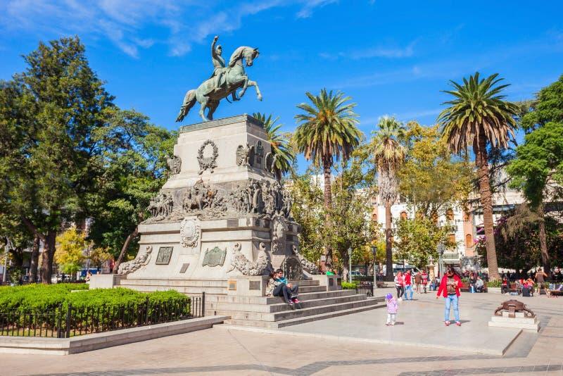 广场圣马丁省,科多巴 免版税库存图片