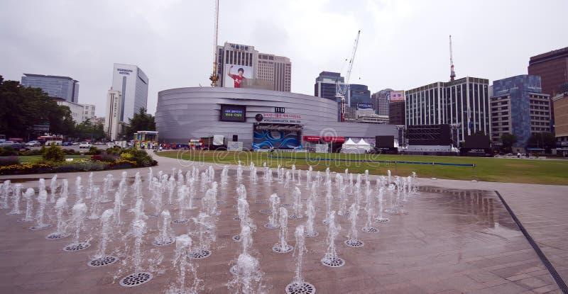 广场汉城 免版税库存照片