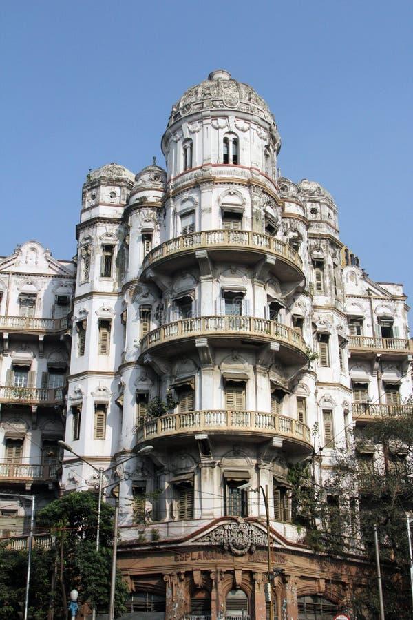 广场豪宅在加尔各答 免版税库存图片