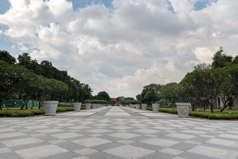 广场Mariones 王城区 堡垒圣地亚哥是西班牙征服者首先建造的城堡 免版税图库摄影