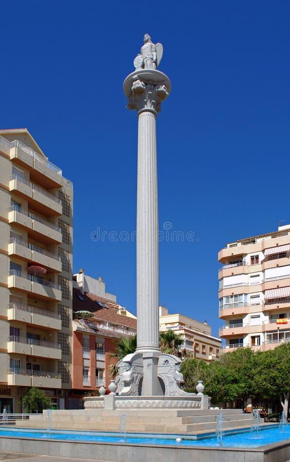 广场San Rafael, Fuengirola,西班牙。 图库摄影