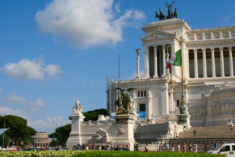 广场Venezia在罗马 免版税库存图片