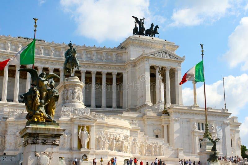 广场Venezia在罗马 库存照片