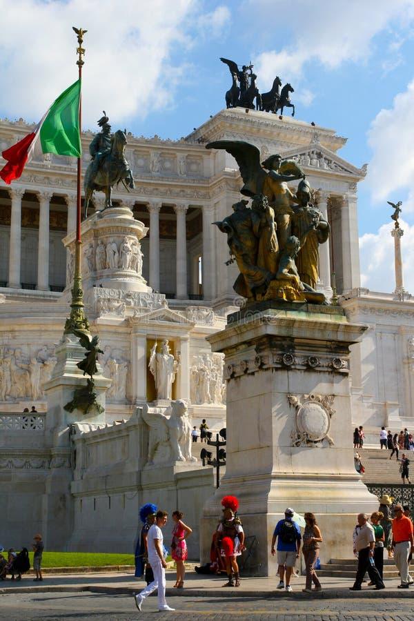 广场Venezia在罗马 库存图片