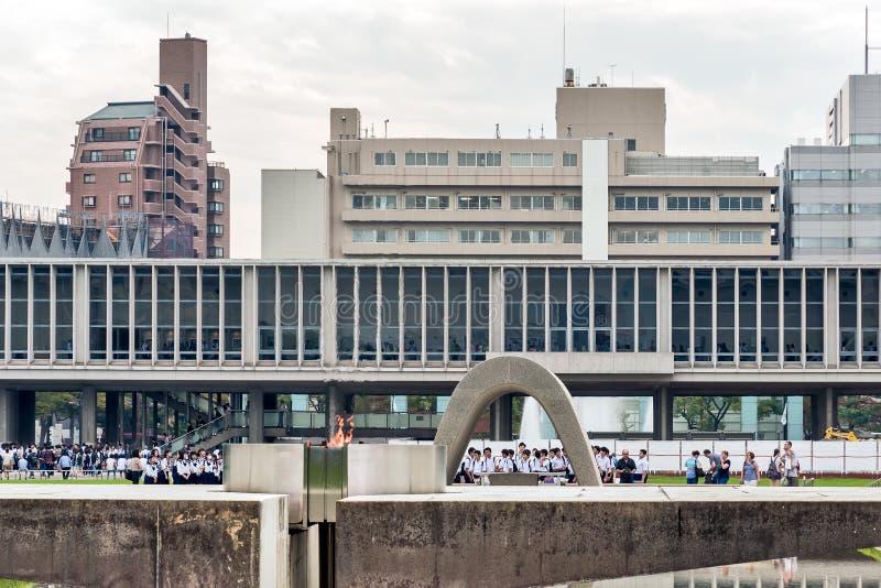 广岛日本 和平纪念公园 免版税库存照片
