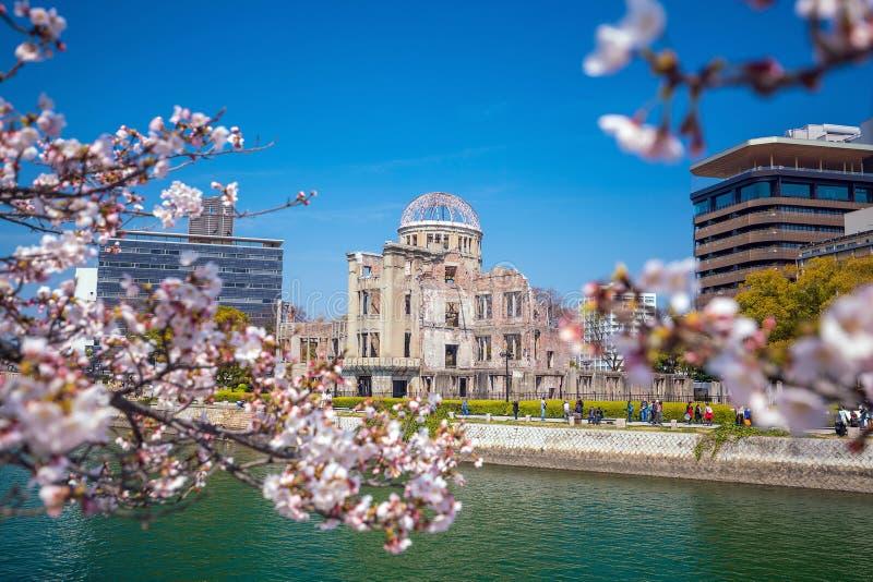 广岛日本 科教文组织世界遗产站点 免版税库存图片