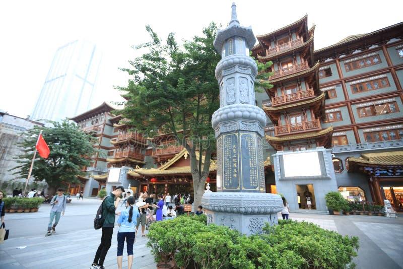 广州大菩萨寺庙7 -广州-中国 免版税库存图片