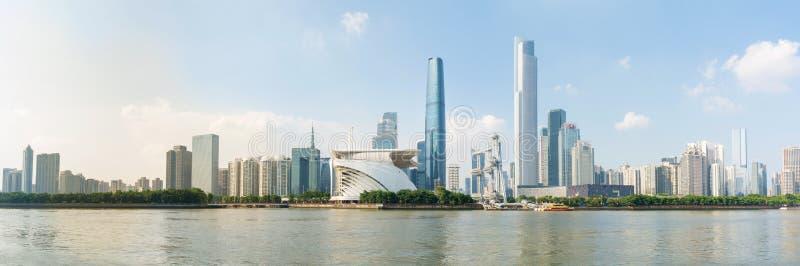 广州市现代都市风景视图,中国 库存照片